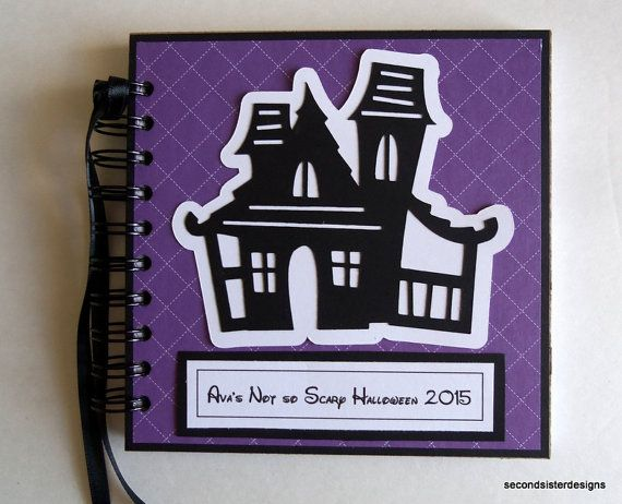 6x6 Personalized Halloween Disney Autograph by secondsisterdesigns