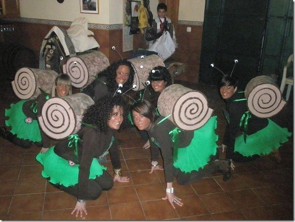 Caracoles carnaval pinterest disfraces caseros - Disfraces caseros adulto ...