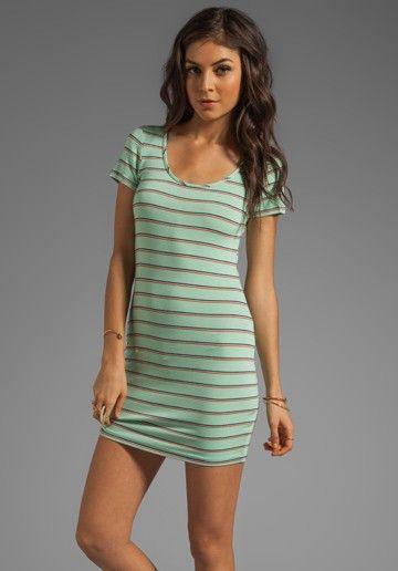 saint grace // clover mini dress // mint! gotta have it