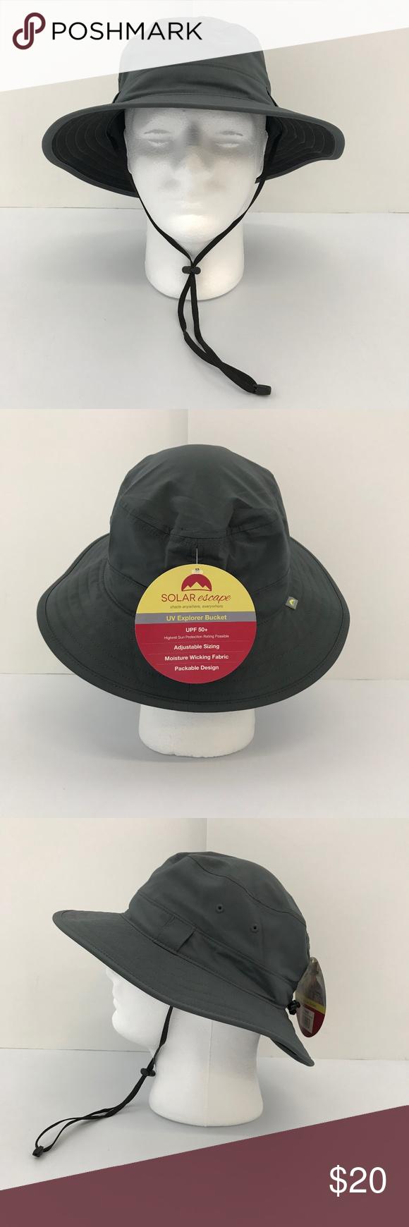 cefaf9a386625 Solar Escape UV Explorer Bucket Hat New with Tags! Solar Escape UV Explorer  Bucket Hat