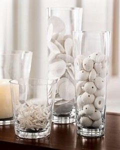 10 Ways To Decorate With Glass Cylinders Vases Decor Summer Decor Vase Fillers