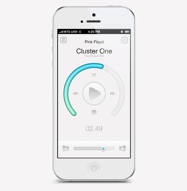 muziek player layout - Google zoeken