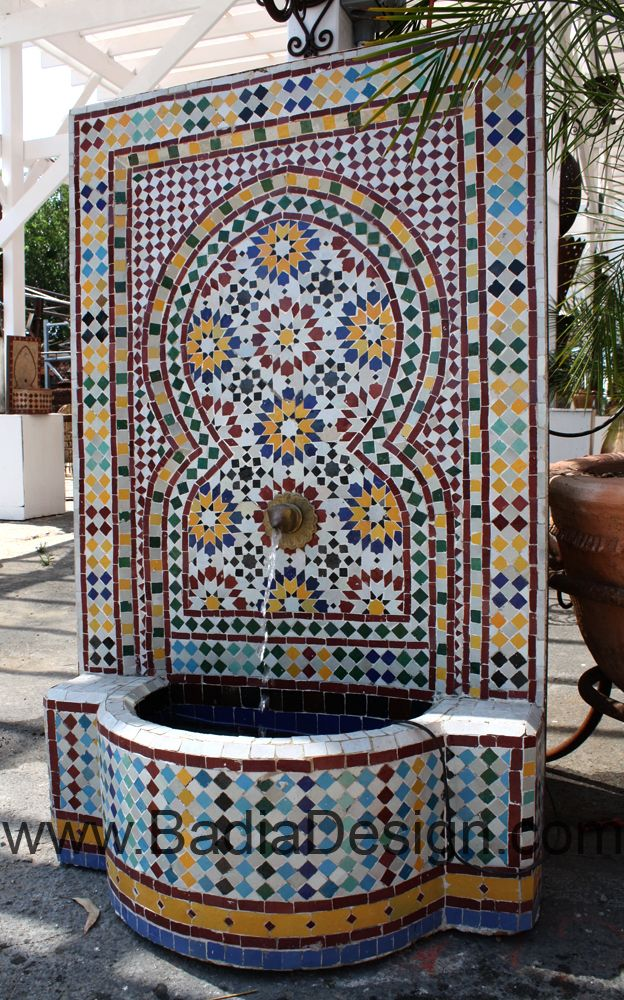 Diy Moroccan Fountains