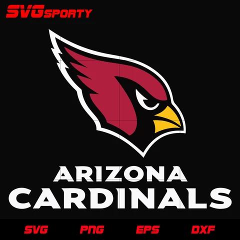 Arizona Cardinals Text Logo Svg Nfl Svg Eps Dxf Png Digital File Arizona Cardinals Arizona Cardinals Logo Arizona Cardinals Football