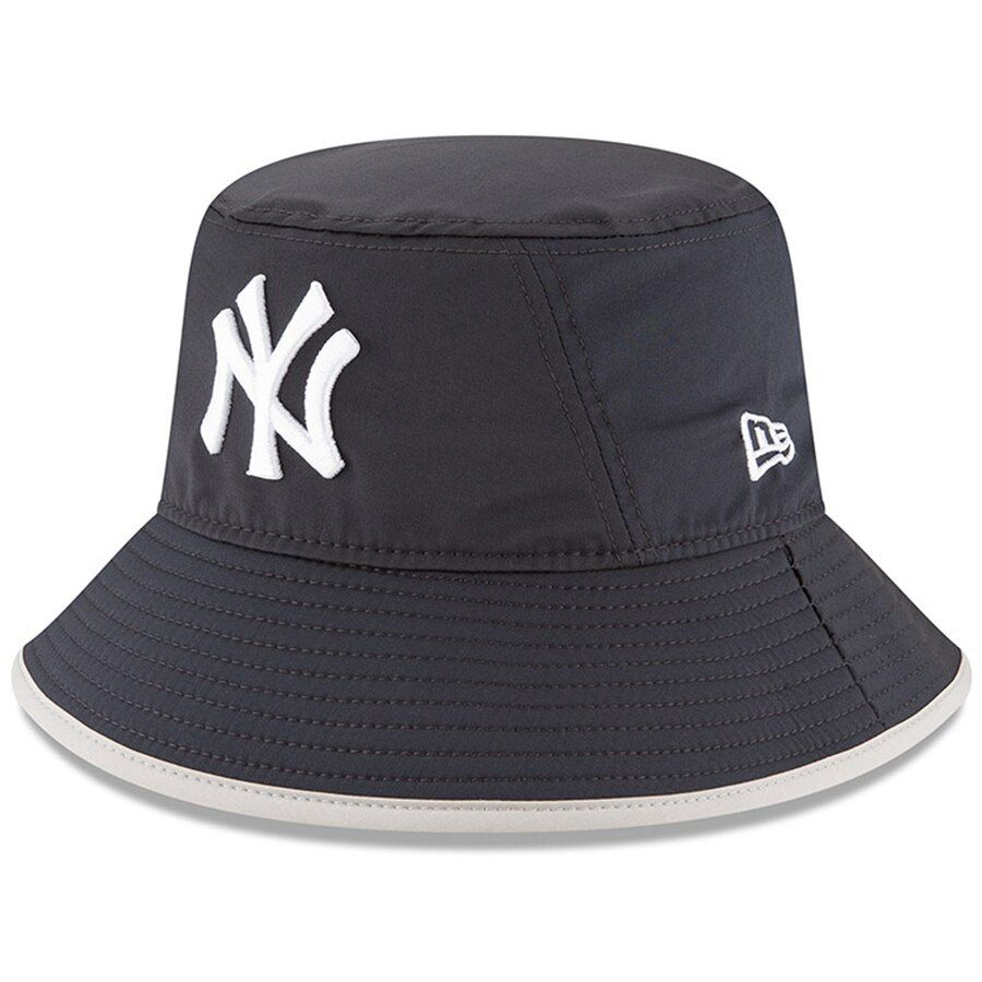 Men S New York Yankees New Era Navy Clubhouse Collection Bucket Hat With Images Yankees Hat Bucket Hat New Era