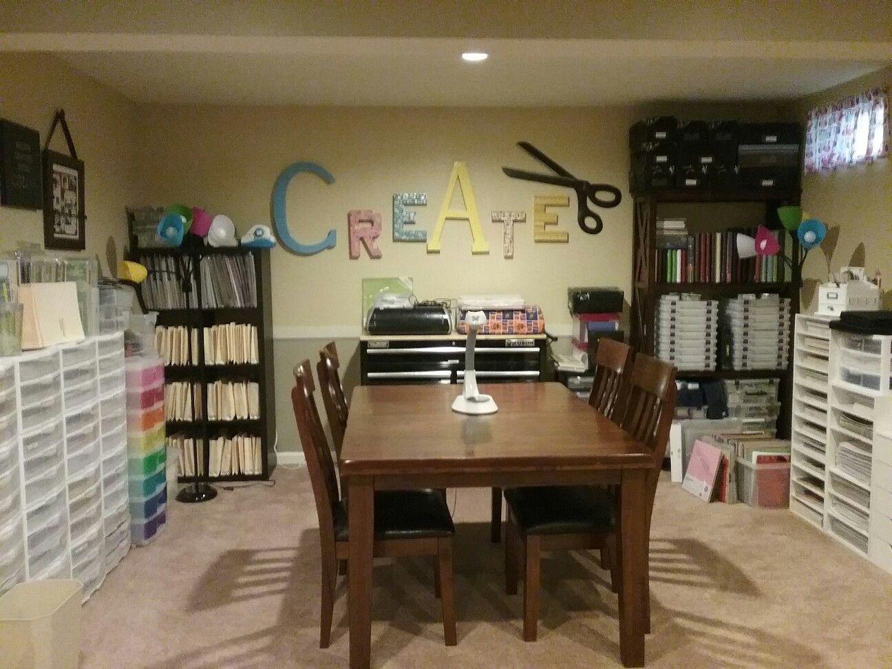 My craft/scrapbook room!