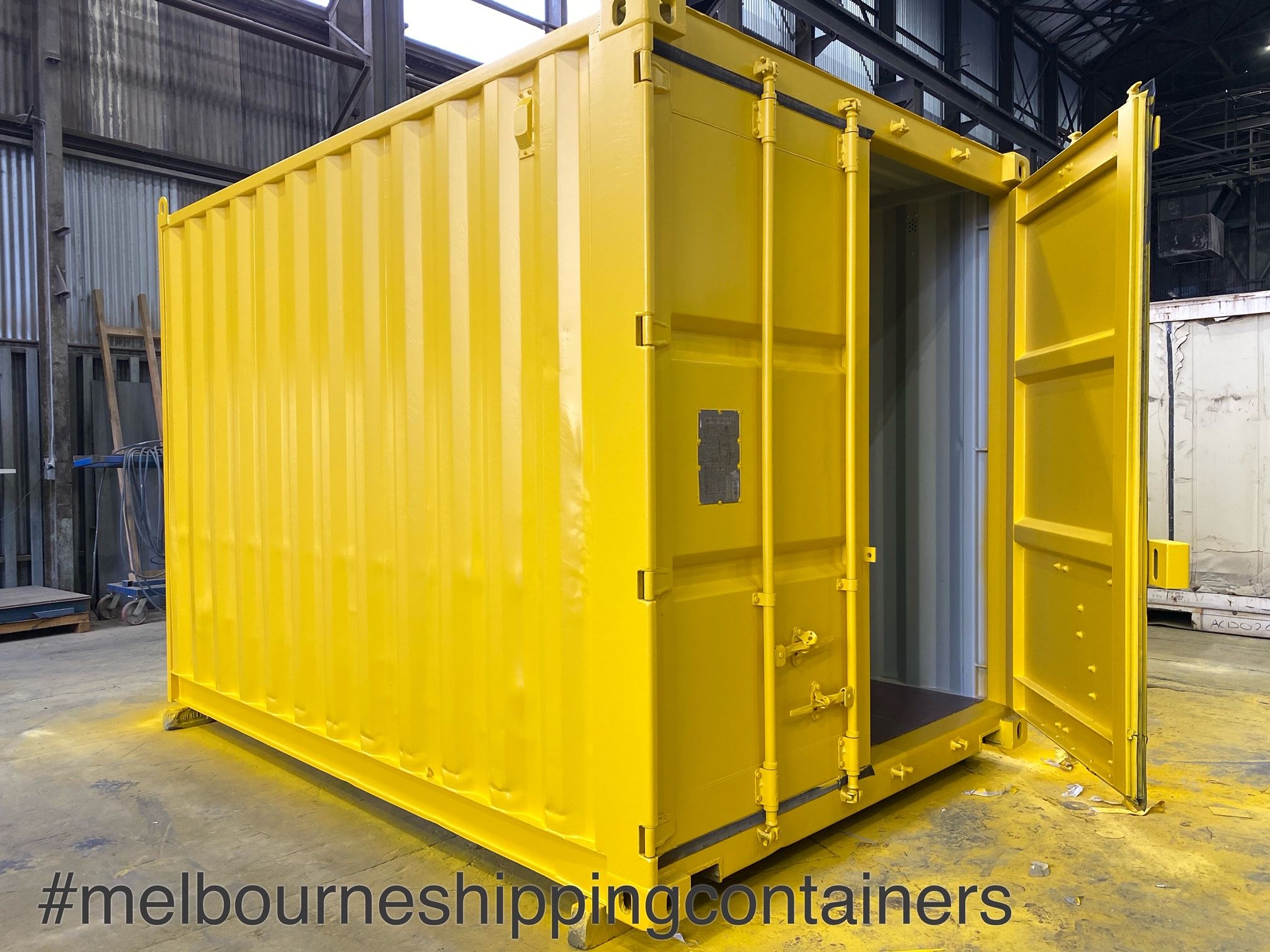 10ft Container Melbourne In 2020 Containers For Sale Shipping Container Small Shipping Containers