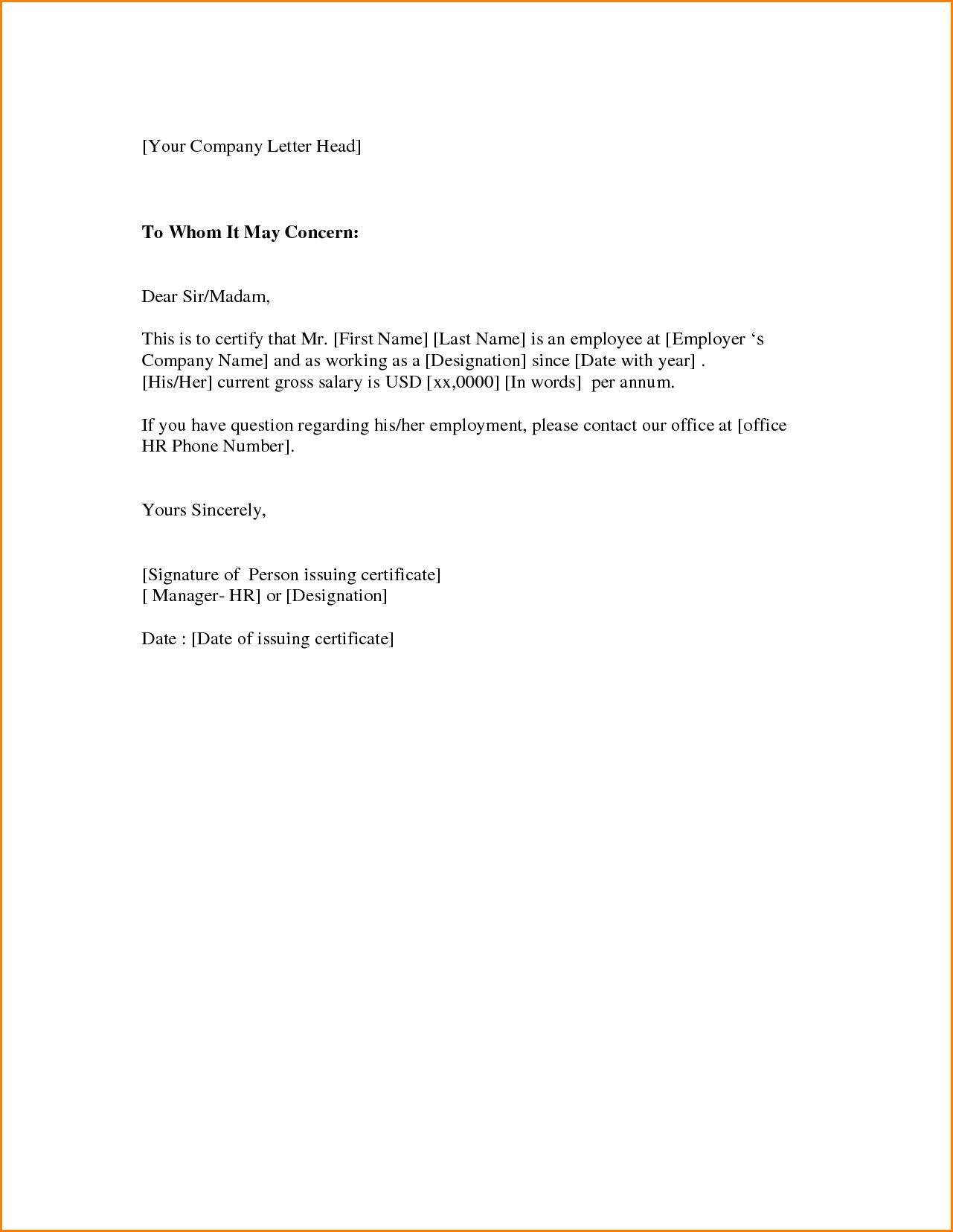 Encantador Carta De Presentación Muestras Gratis Plantillas ...