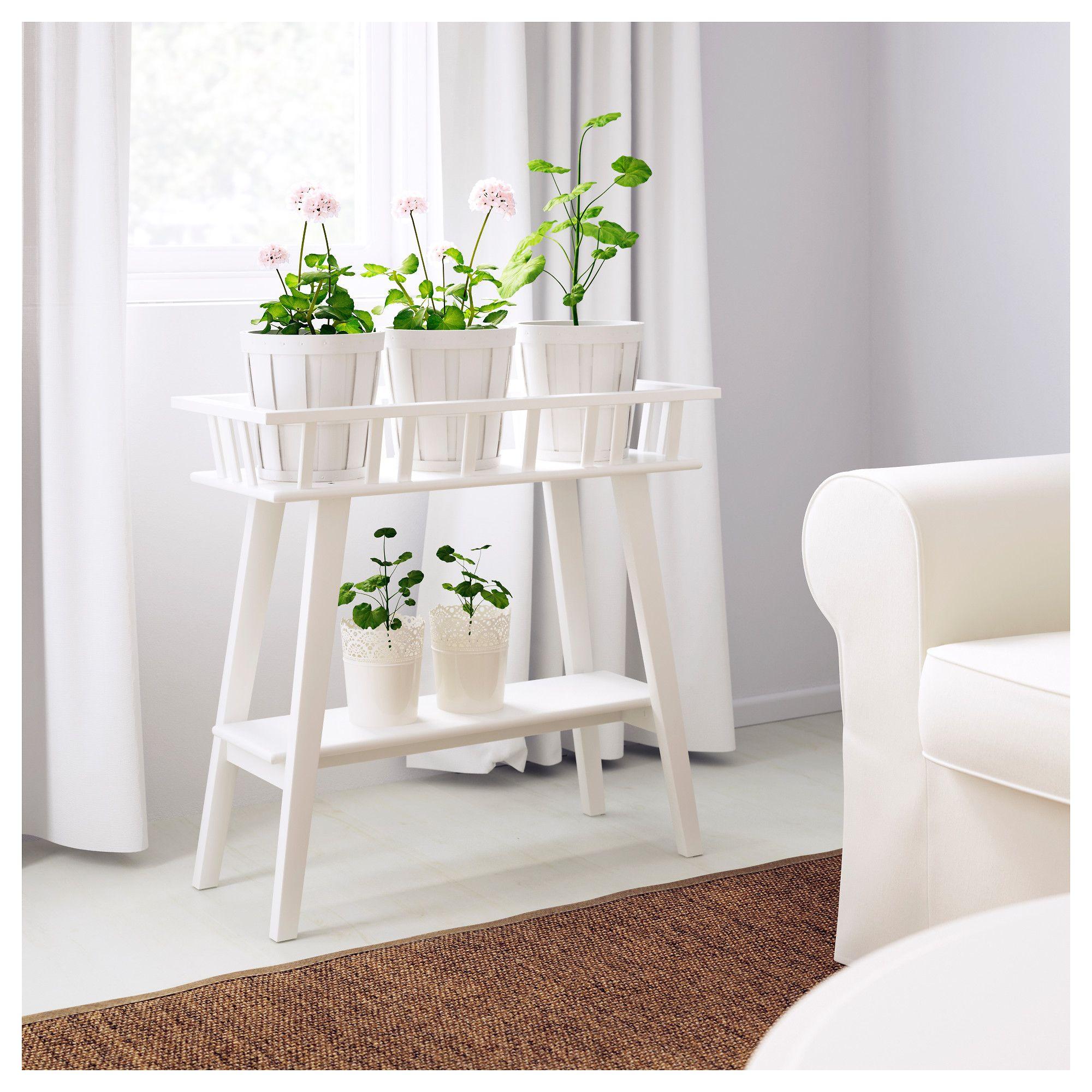 lantliv blumenst nder wei wohnung pinterest blumenst nder raumteiler und reihe. Black Bedroom Furniture Sets. Home Design Ideas