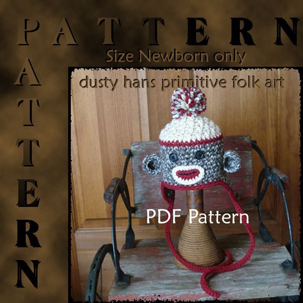 Free Crochet Monkey Pattern Patternmart Pdf Crochet Sock