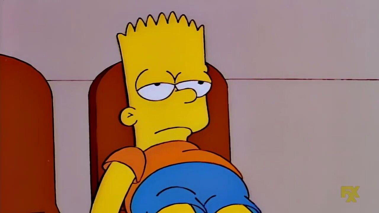 Bart Bored | Capa twitter
