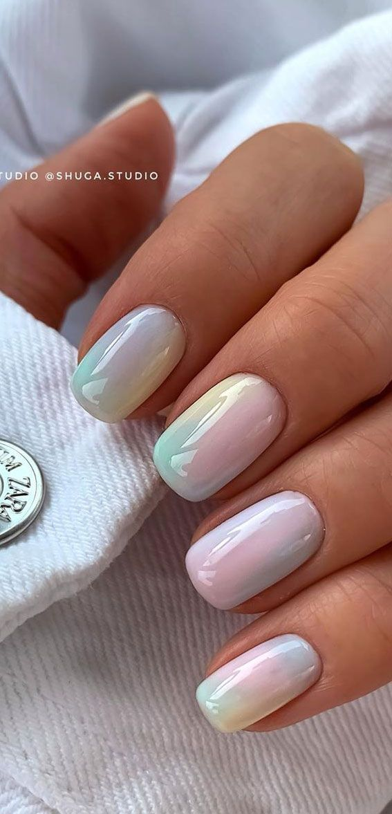 50 Cute Summer Nail Ideas For 2020 Tie Dye In 2020 Fashion Nails Dream Nails Cute Acrylic Nails