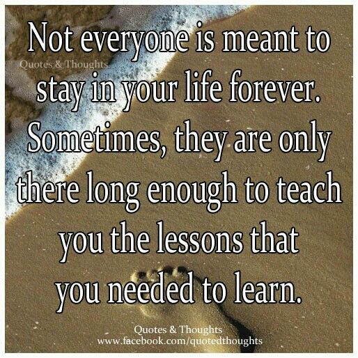 Relationship Lessons Learned In Life Quotes