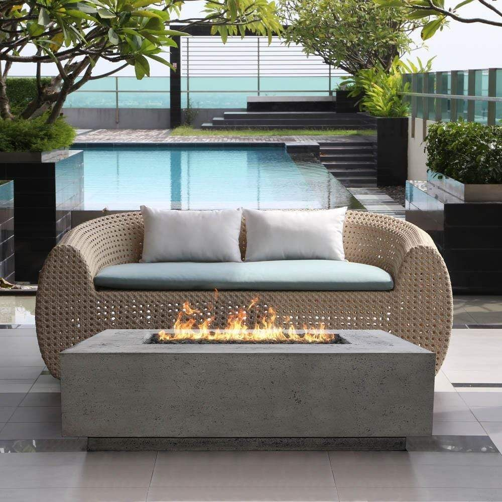Pin On My Saves Modern outdoor fire pit table