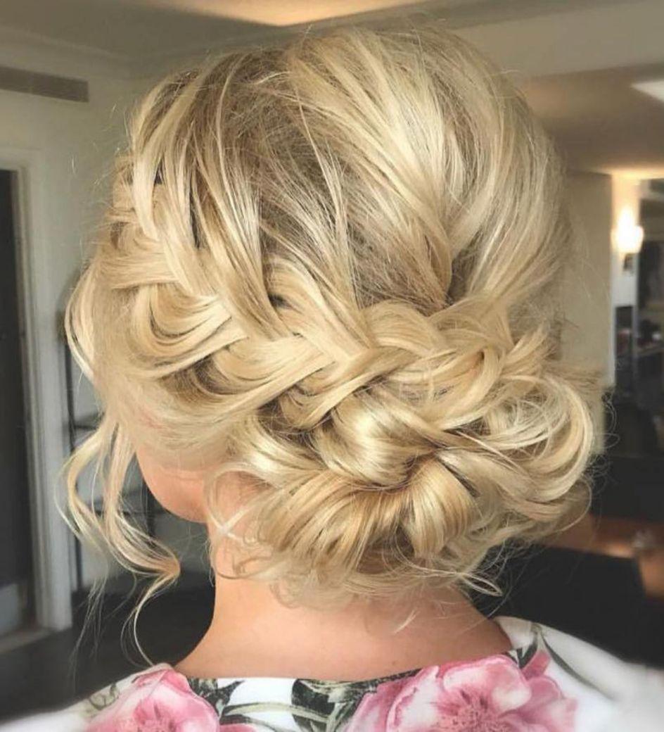 trendiest updos for medium length hair in hair pinterest