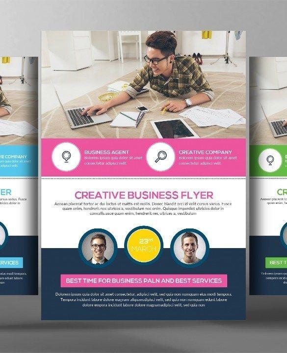 52 Business Flyer Templates Psd Ai Indesign: Photoshop Business Flyer Templates