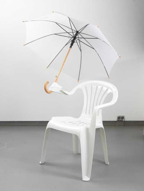 plastic chair with umbrella. Chair DesignCreative ...