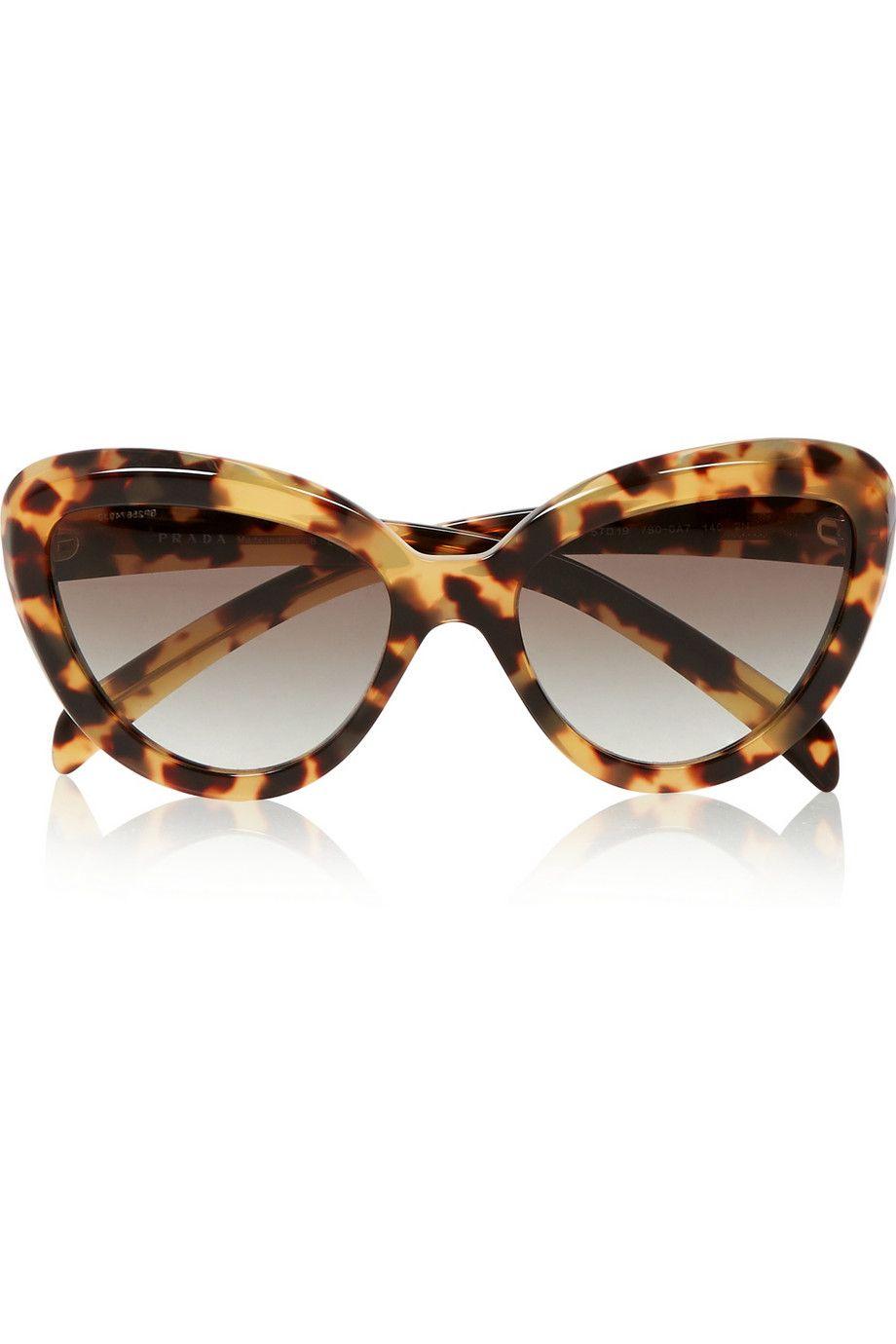 Prada   Cat-eye acetate sunglasses   NET-A-PORTER.COM · Prada Óculos De  SolÓculos ... f879d69887