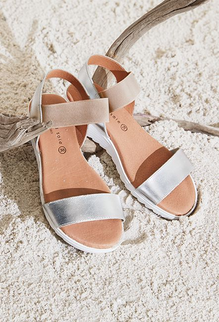 Elise Sandal | nikel + sole | Sandals, Strap heels, Leather