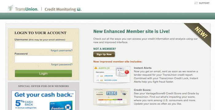 Transunion Login Sign In To Transunion Com Account With Images