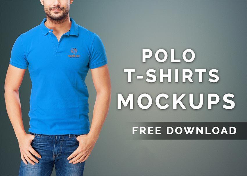 Download Polo T Shirt Mockups Polo T Shirts Shirt Mockup Tshirt Mockup