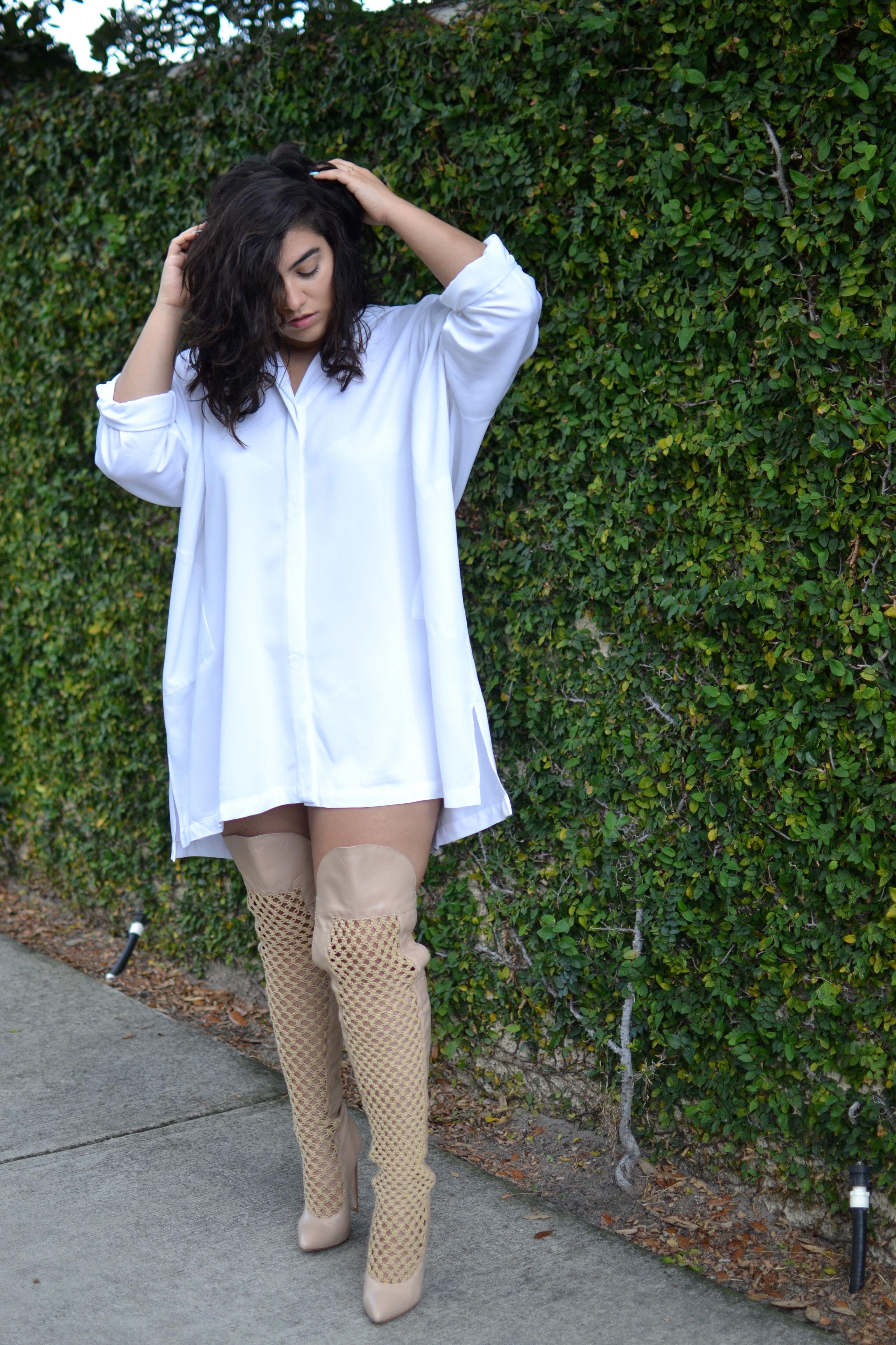 c926a8d5ee0 Plus Size Clothing · Plus Sizes Fashion · Nadia Aboulhosn wearing the  Shaina Mote Mandela Dress http   www.meismith.