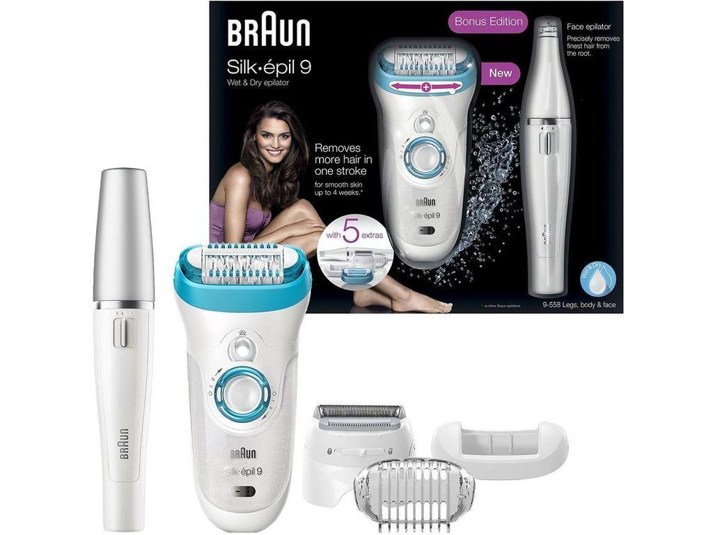 Braun Silk-Epil 9 9558 Wet   Dry Cordless Epilator - Legs 3f3006ce3
