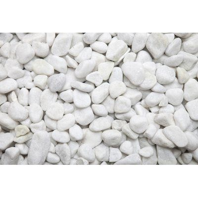Ecosmart Fire Decorative Stones Finish Matte White Stone Decor Decorative Objects Decorative Plates