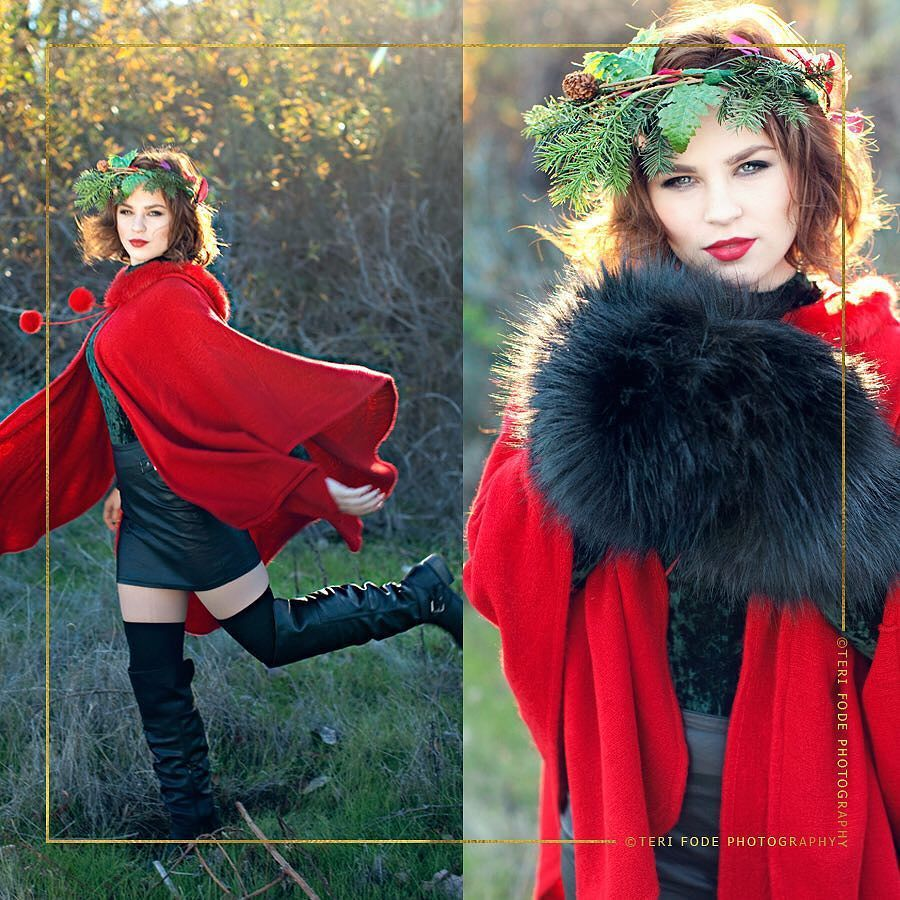 Meet Winterberry the styled photo session that I dream