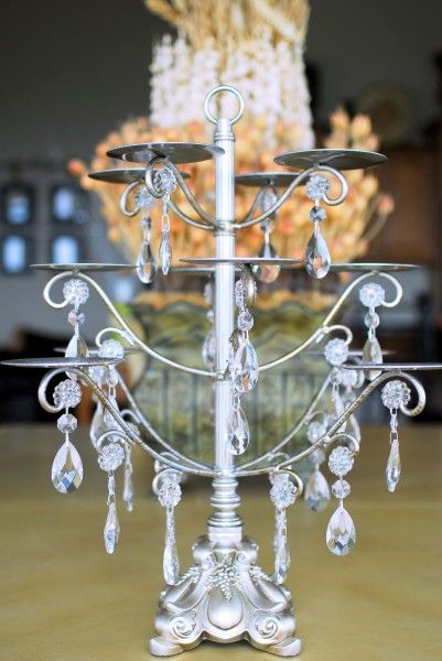 Chandelier Cupcake Stand Clever Crafts Pinterest Cupcake - Cupcake chandelier stand crystals