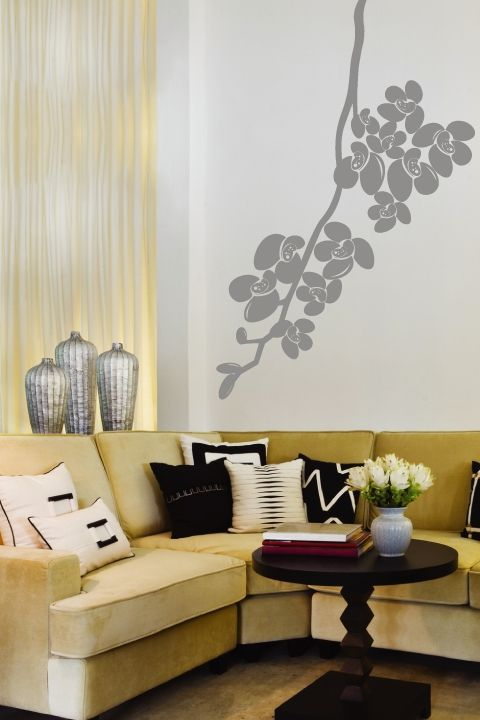 Orchid wall decals walltat com art without boundaries
