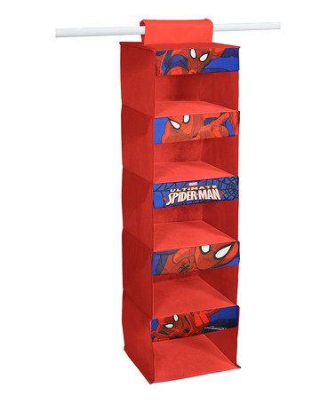 Another great find on #zulily! Spider-Man Printed Hanging Organizer #zulilyfinds