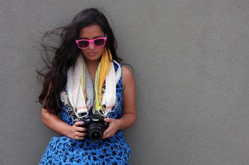 DIY Chic Custom Camera Strap   - What Women Want