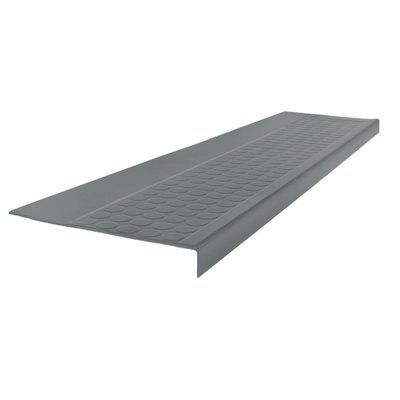 Best Roppe 42 Low Profile Square Nose Stair Tread Stair 400 x 300