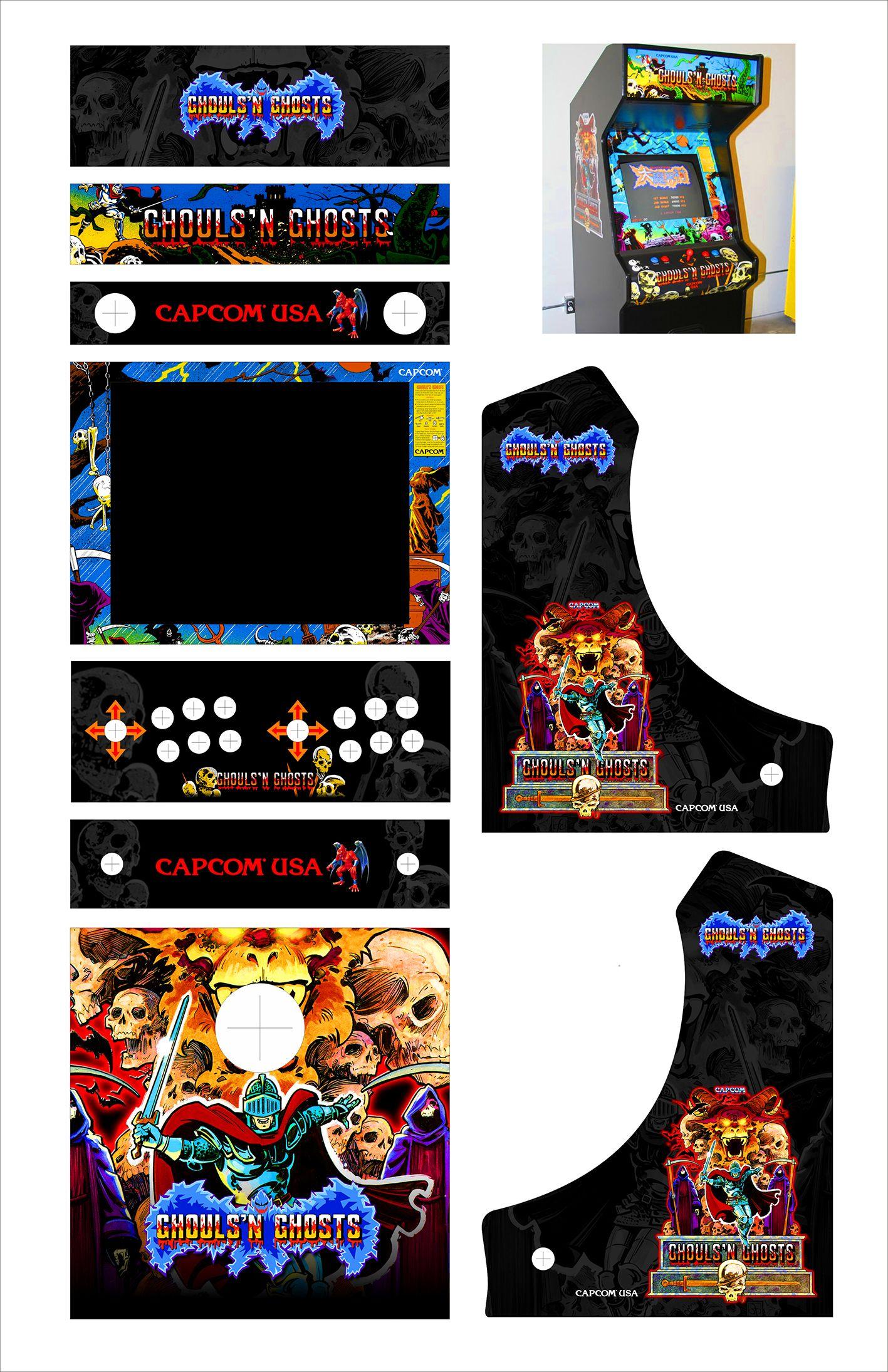 Bartop Arcade Cabnets Retro Arcade Arcade Arcade Games