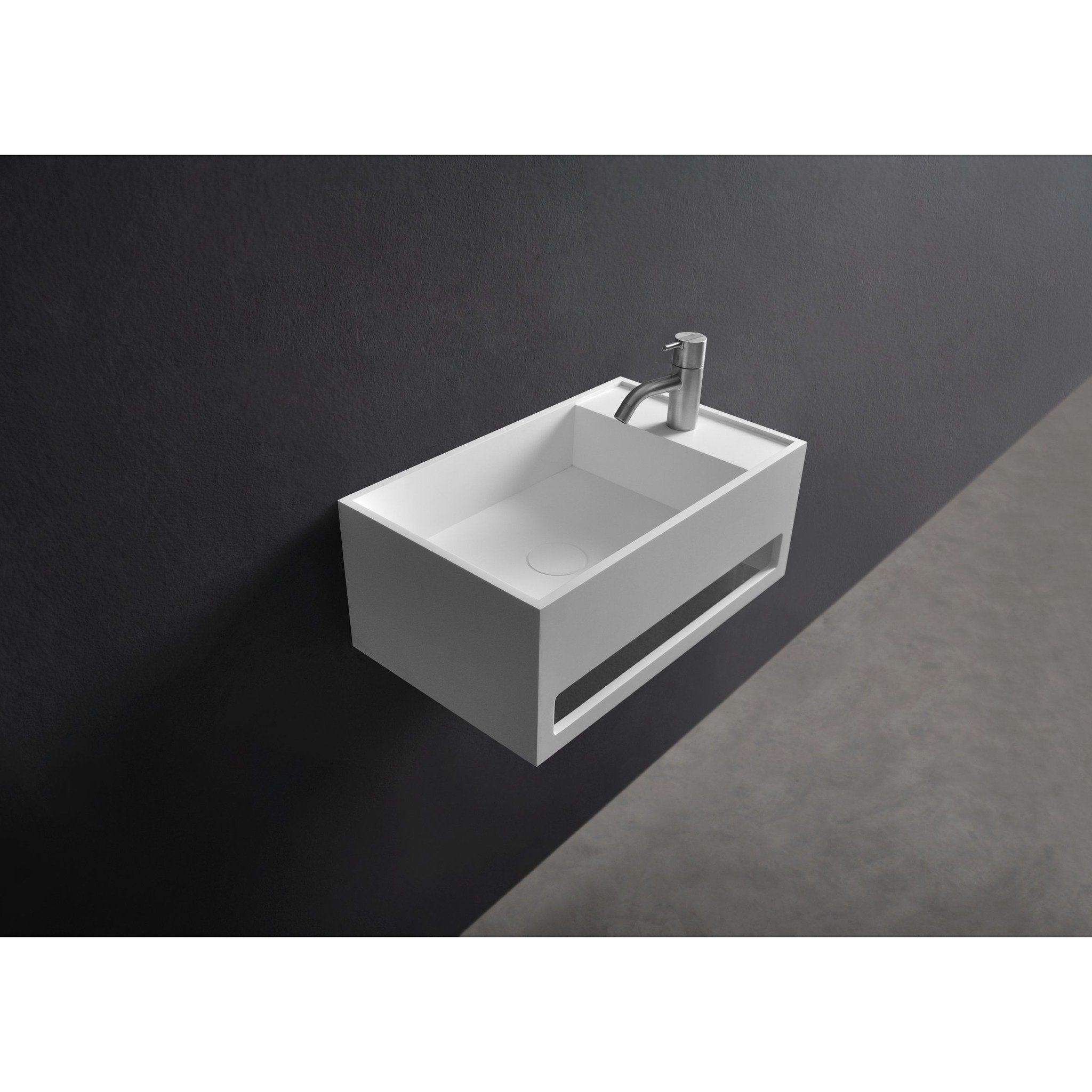 Ideavit Solid Surface toiletfontein wastafel Solidcube Badkamers