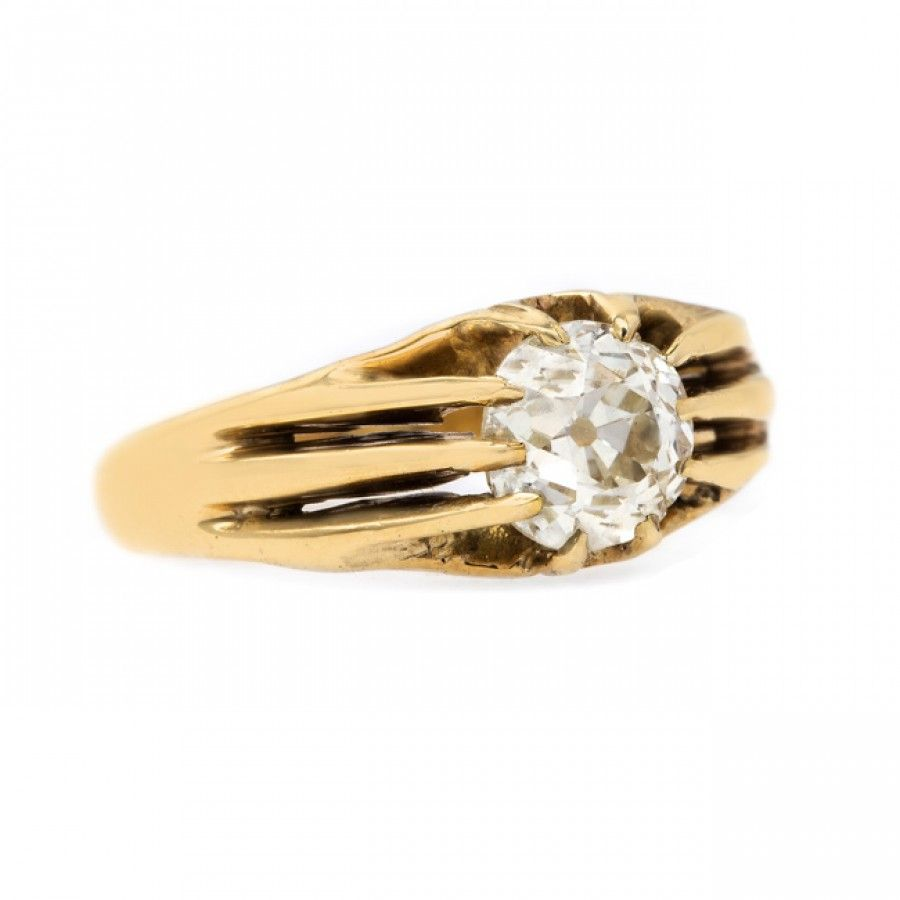 Buy a victorian k yellow gold ring from tuh selma rings