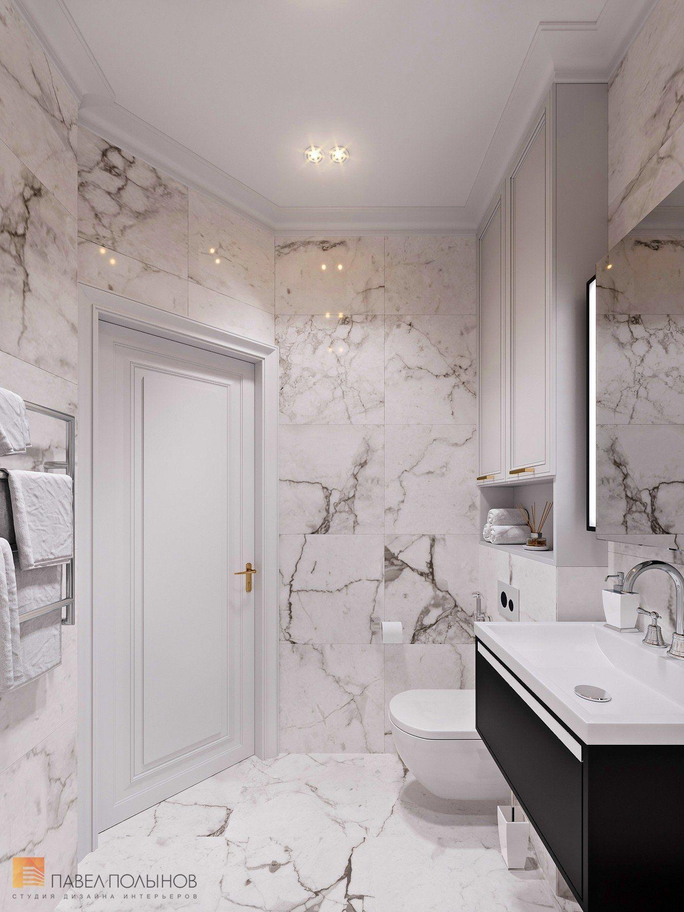 Фото интерьер ванной комнаты из проекта «Квартира с стиле ...