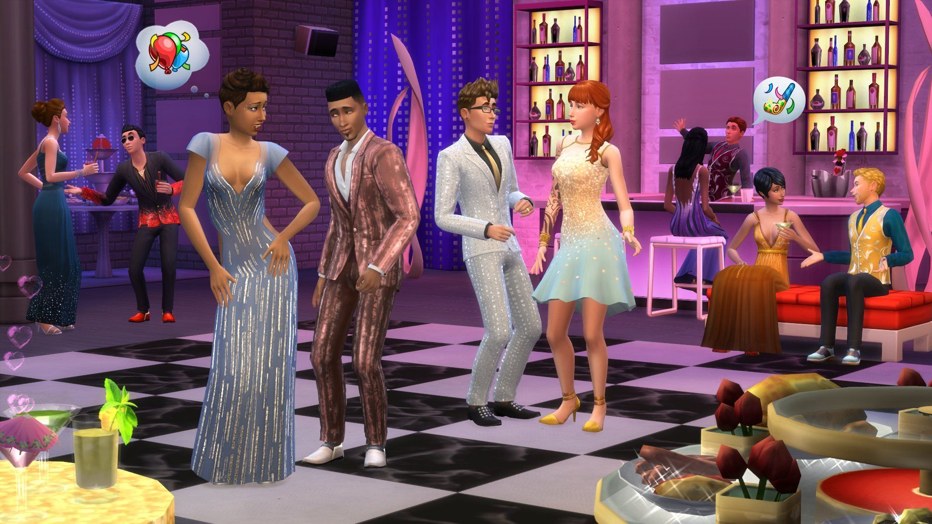 The Sims 4 Luxury Party Stuff Game Code] http