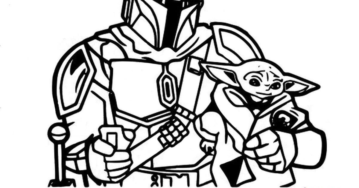Mandalorian Baby Yoda Coloring Pages Printable Star Wars Yoda Printable Page Coloring Pages Star War In 2020 Star Wars Coloring Sheet Coloring Pages Coloring Books