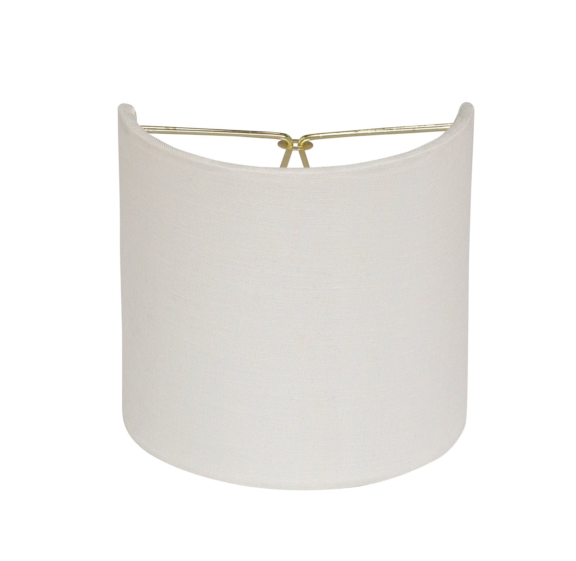 Small Sconce Shade 5 Half Drum Sconce Shades Sconces Brass Candle