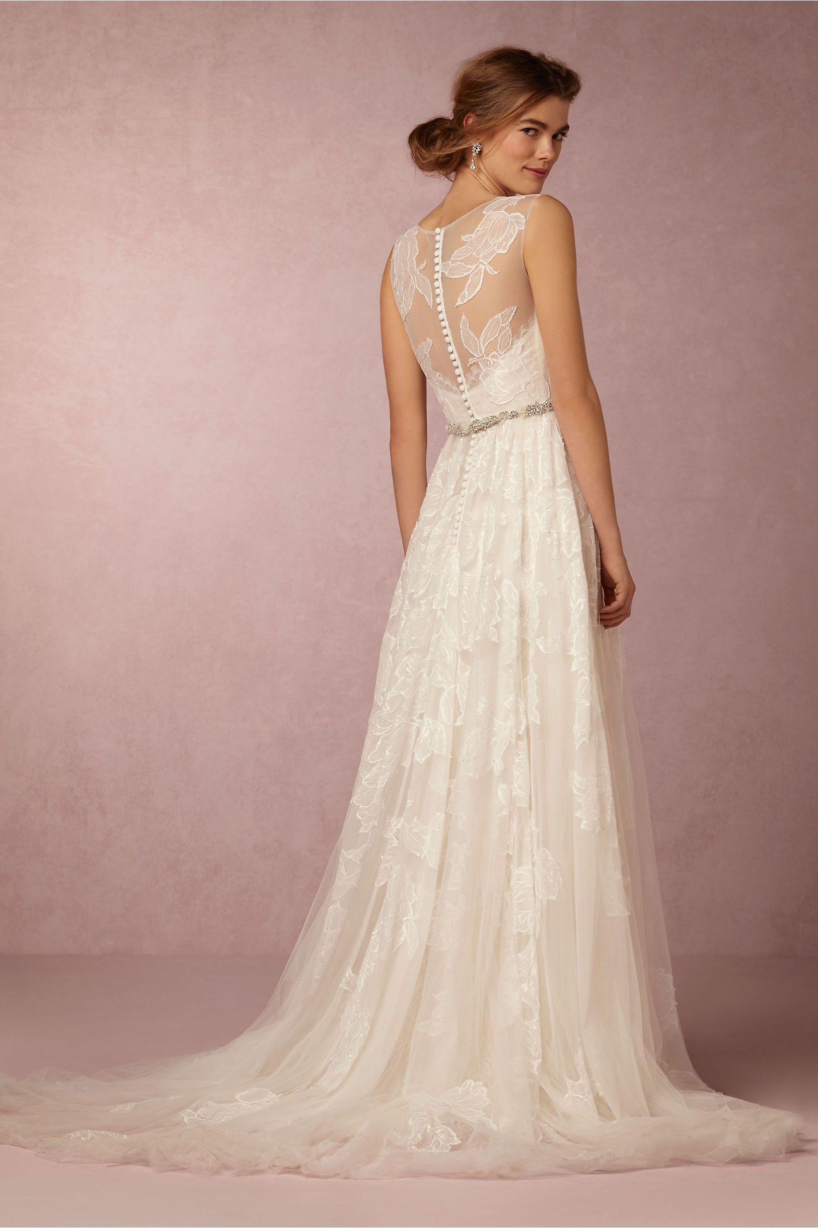 BHLDN Fleuretta Gown in Bride Wedding Dresses at BHLDN | Wedding ...