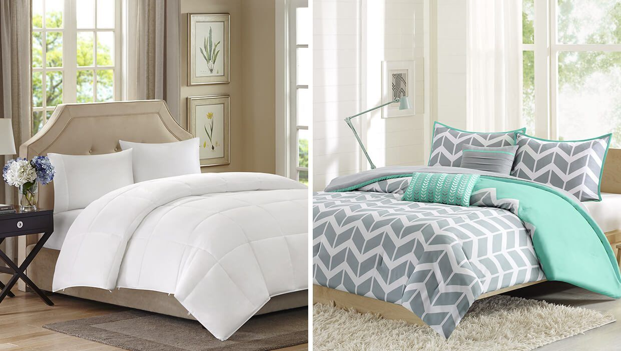 Difference Between Duvet Vs Comforter Comforters Duvet Bedroom