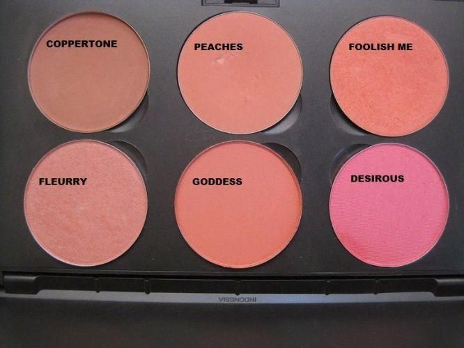 Populaire MAC blushpeaches and coppertone | Hair & Beauty that I love  WI68