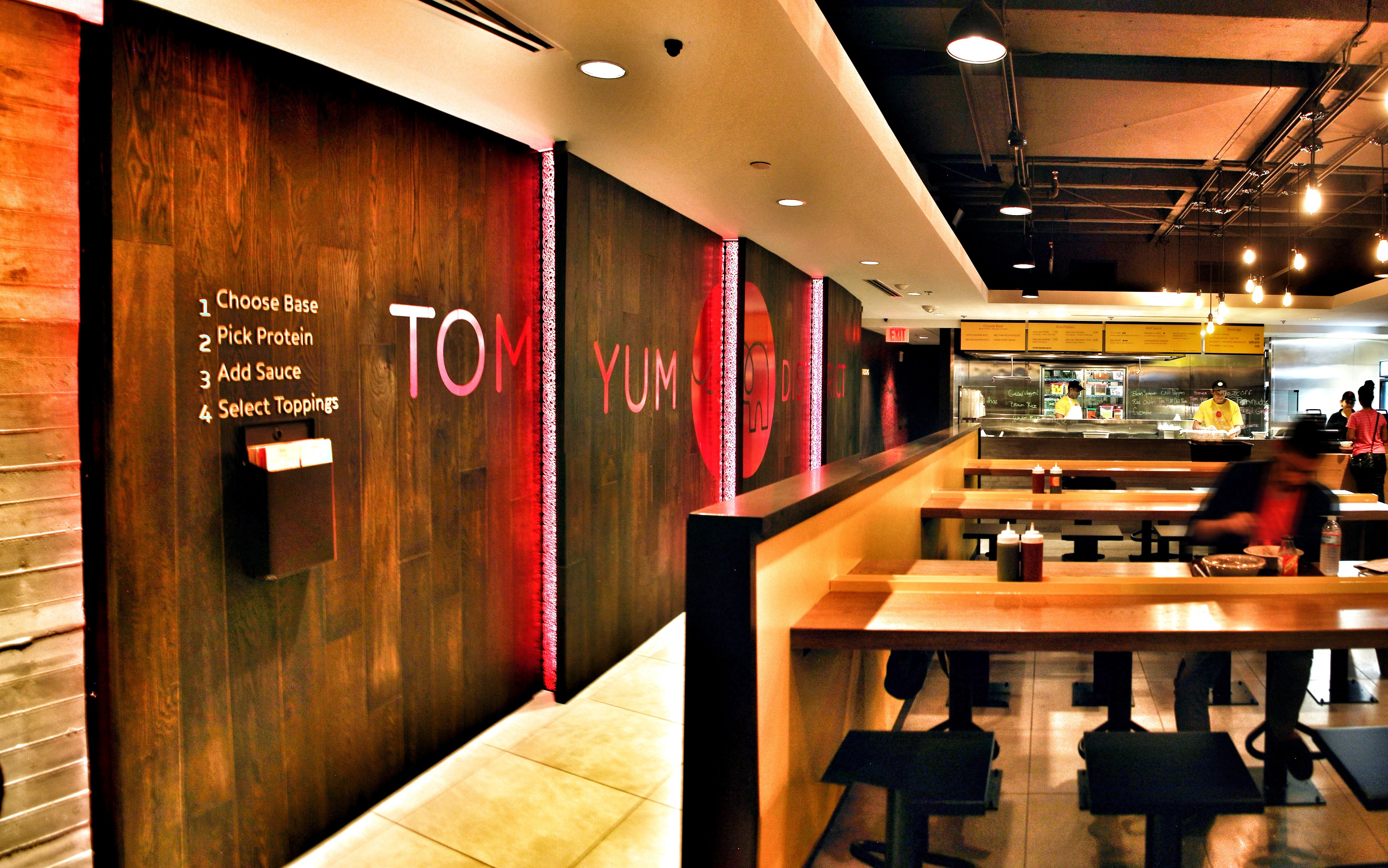 wendys launches re design inspired by mexican chain days after boss praised rival as new fast food king interiors