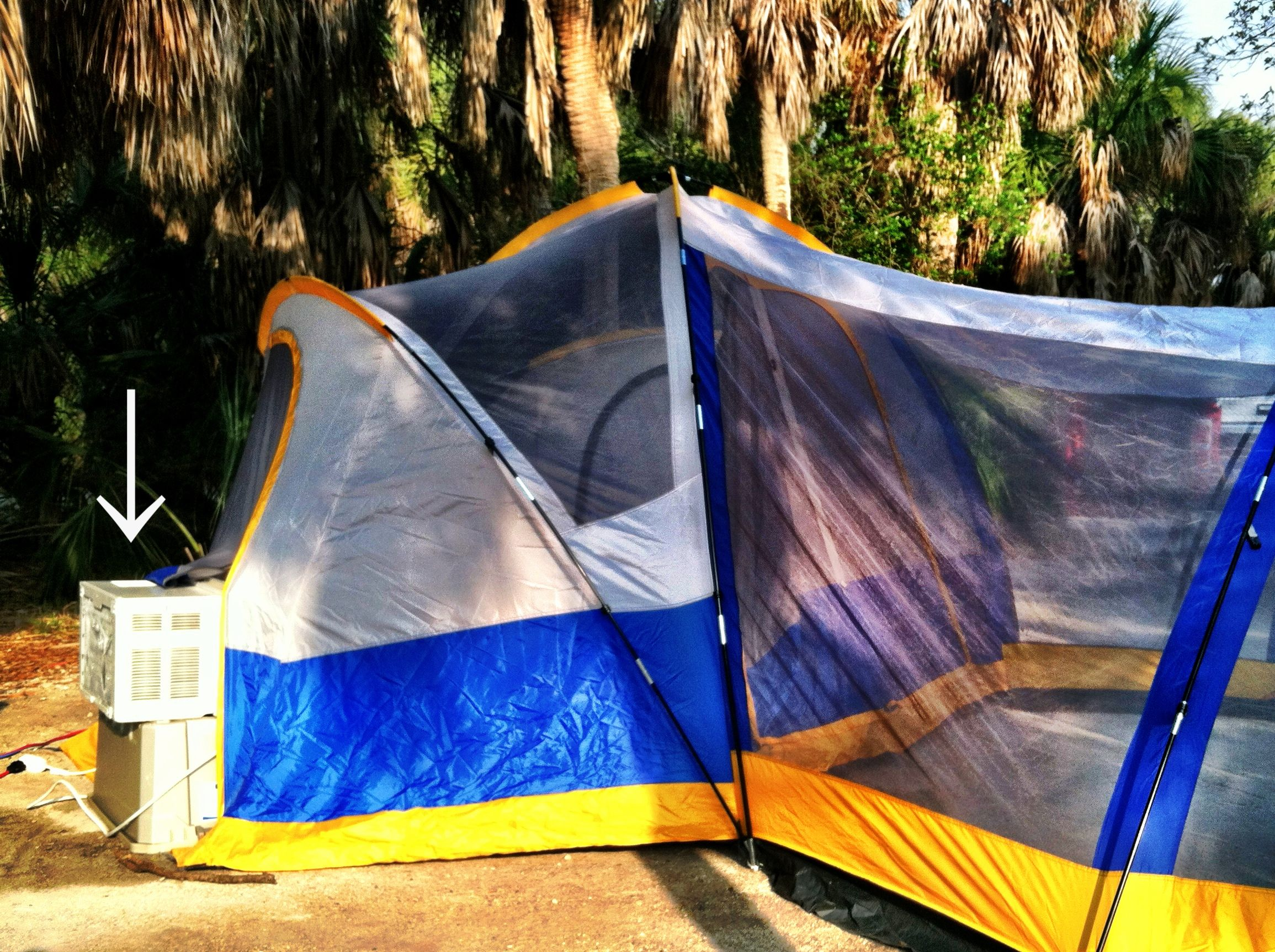 How to survive tent c&ing during a Florida summer. -) & How to survive tent camping during a Florida summer. :-) | For the ...