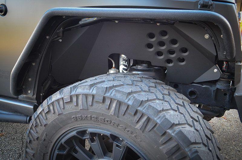 Ace Jk Inner Fender Inserts Custom Jeep Jeep Fenders Fender