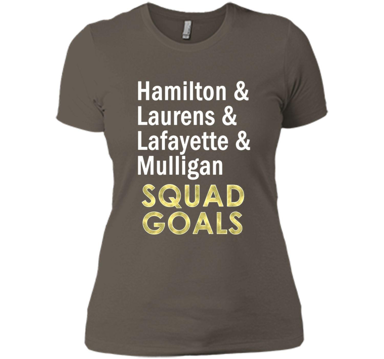 Tshirt | Hamilton Laurens Lafayette Mulligan Squad Goals