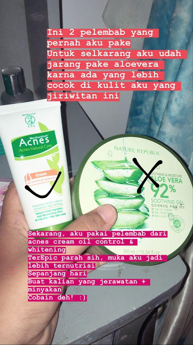 Acnes Cream Oil Control Whitening Pakai Jerawat