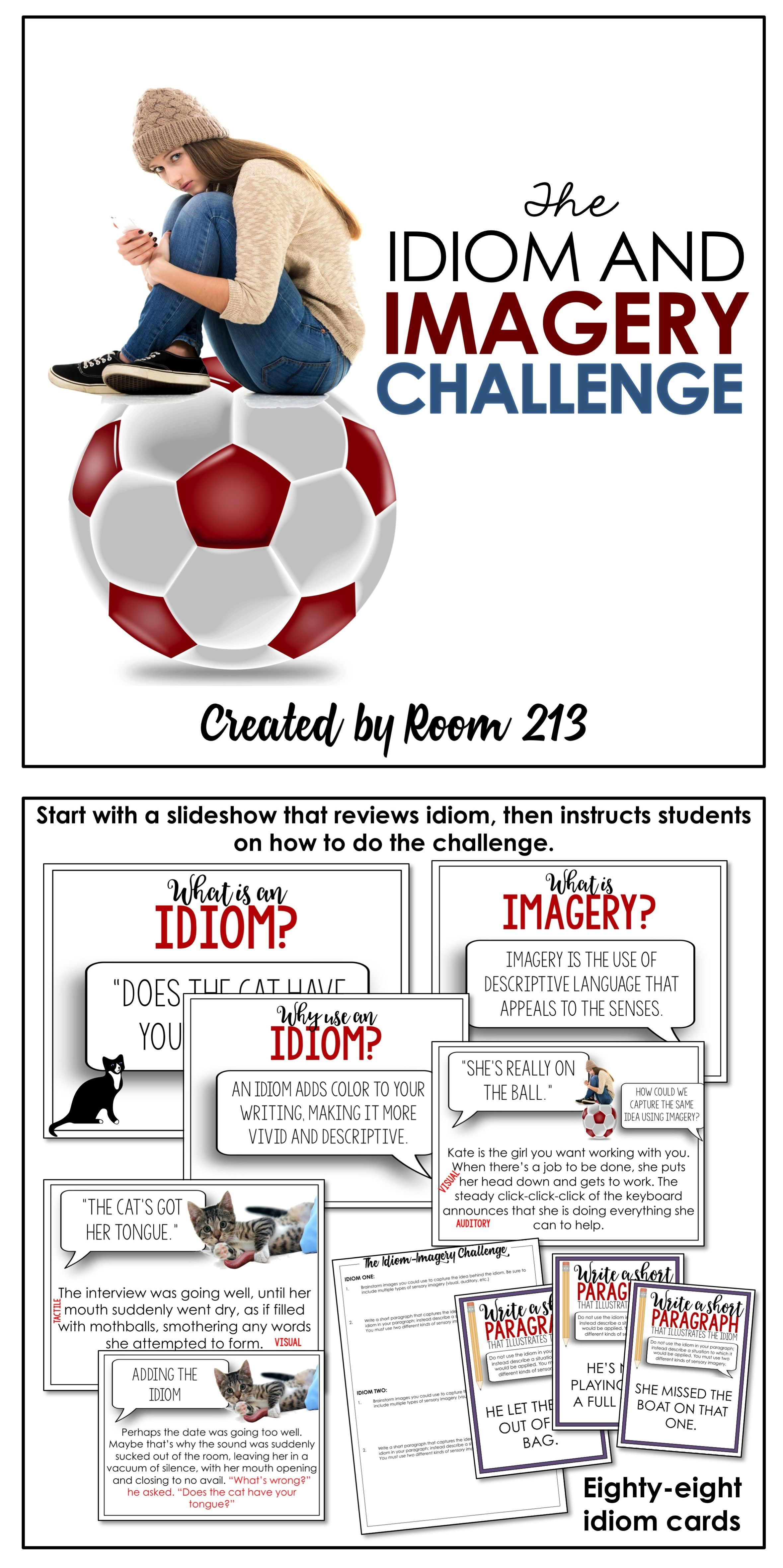 The Idiom And Imagery Challenge